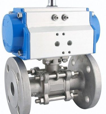 Ball Valve PNEUMATIC Atruator LUTON UK